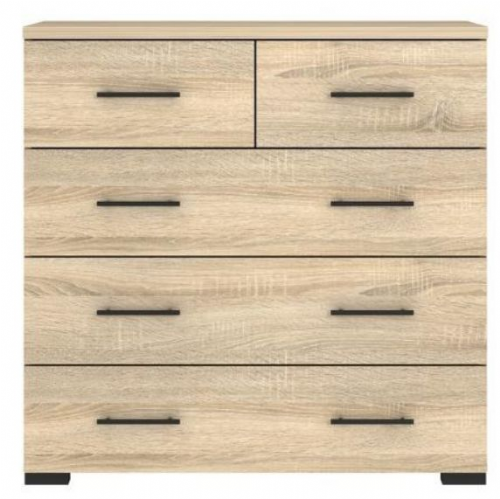 Carlo Chest of Drawer Oak Effect - 2509